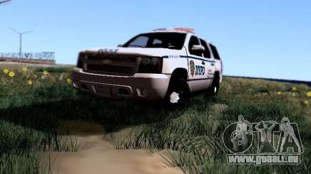 Chevrolet Tahoe 2007 NYPD pour GTA San Andreas