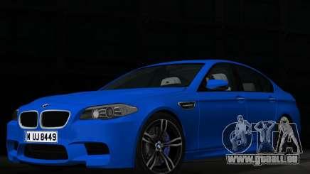 BMW M5 F10 2012 pour GTA Vice City
