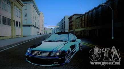 Mercedes-Benz CLK 55 AMG Coupe pour GTA San Andreas