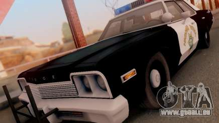 Dodge Monaco 1974 California Highway Patrol pour GTA San Andreas