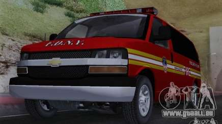 Chevrolet Express Special Operations Command für GTA San Andreas