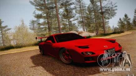 Mazda RX7 Hellalush V.2 pour GTA San Andreas