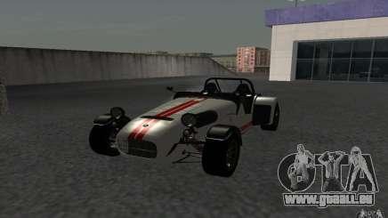Caterham R500 für GTA San Andreas