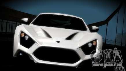 Zenvo ST1 2010 für GTA San Andreas