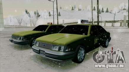 SA Taxi HD de GTA 3 pour GTA San Andreas