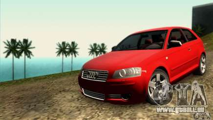 Audi A3 Tunable pour GTA San Andreas