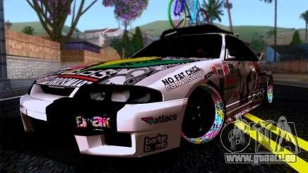 Nissan GT-R R33 HellaFlush pour GTA San Andreas
