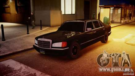 Mercedes-Benz 560 SEL Black Edition pour GTA 4