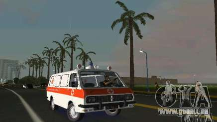 RAF-22031 Ambulance pour GTA Vice City