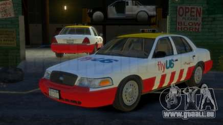 Ford Crown Victoria for FlyUS Car pour GTA 4