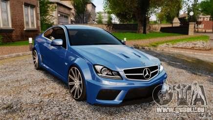 Mercedes-Benz C 63 AMG für GTA 4