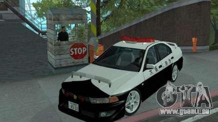 Mitsubishi Galant Police pour GTA San Andreas