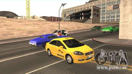 Fiat Linea Taxi pour GTA San Andreas