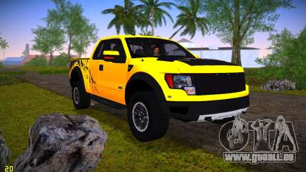 Ford F-150 SVT Raptor pour GTA Vice City