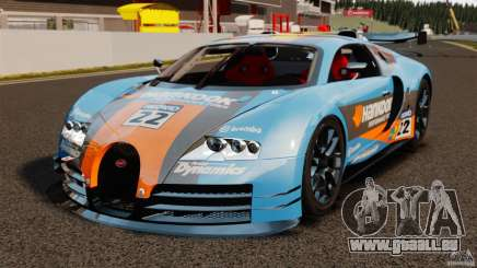 Bugatti Veyron 16.4 Body Kit Final pour GTA 4