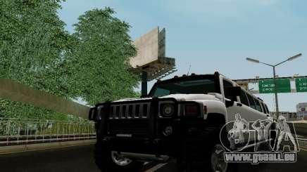Hummer H3 Limousine für GTA San Andreas