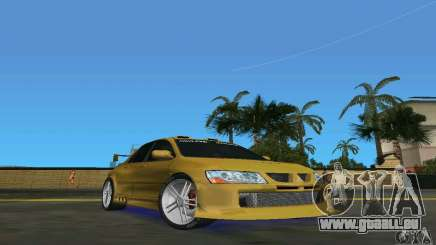 Mitsubishi Lancer Evo pour GTA Vice City