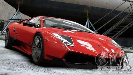 Lamborghini Murcielago LP 670-4 SV 2011 für GTA 4