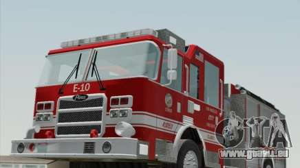 Pierce Saber LAFD Engine 10 für GTA San Andreas