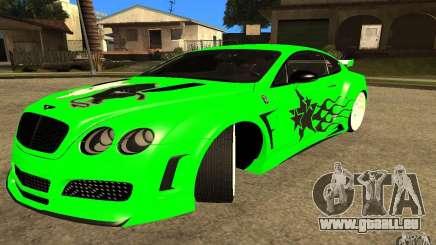 Bentley Continental GT pour GTA San Andreas