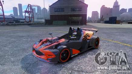KTM X-BOW Body Kit Final pour GTA 4