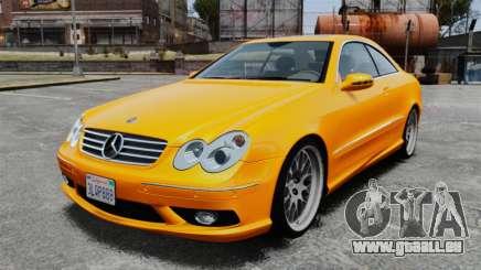 Mercedes-Benz CLK 55 AMG für GTA 4