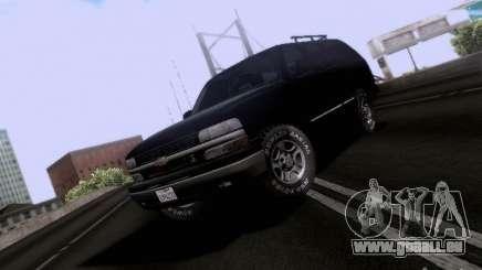 Chevrolet Tahoe 2003 SWAT pour GTA San Andreas
