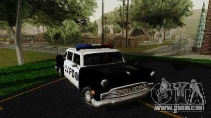Cabbie Police LV für GTA San Andreas
