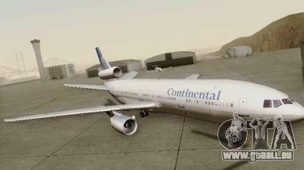 McDonell Douglas DC-10-30 Continental für GTA San Andreas