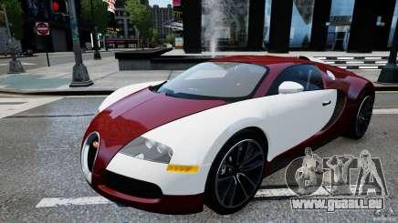 Bugatti Veyron 16.4 v1.0 wheel 1 für GTA 4