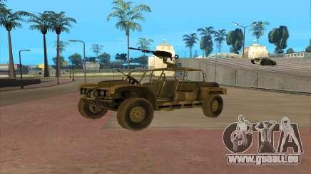 FAV-Buggy von Battlefield 2 für GTA San Andreas