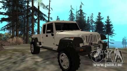 Jeep Gladiator pour GTA San Andreas