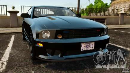 Saleen S281 Extreme Unmarked Police v1.5 pour GTA 4