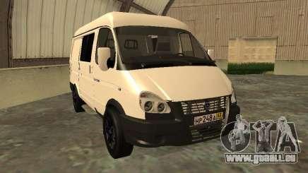 GAZ 2752 Sobol Business für GTA San Andreas