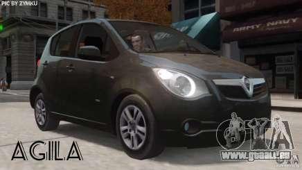 Vauxhall Agila 2011 pour GTA 4