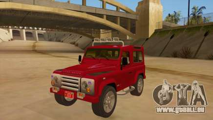 Land Rover Defender pour GTA San Andreas