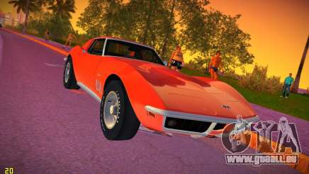 Chevrolet Corvette (C3) Stingray T-Top 1969 pour GTA Vice City