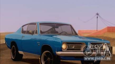 Plymouth Barracuda 1968 für GTA San Andreas
