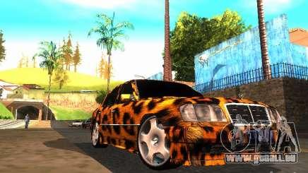 Mercedes-Benz E500 Leopard pour GTA San Andreas