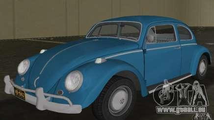 Volkswagen Beetle 1963 pour GTA Vice City