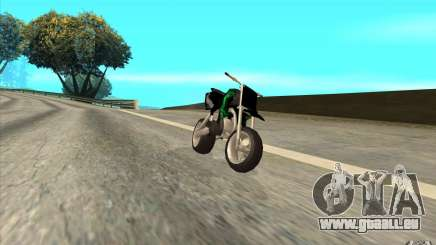 Black Rockstar Moto Cross pour GTA San Andreas