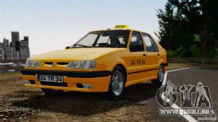 Renault 19 Taxi für GTA 4