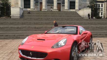 Ferrari California 2009 für GTA 4