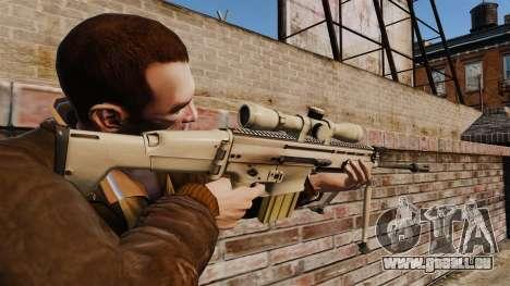 Mk17 SCAR-H für GTA 4 Sekunden Bildschirm