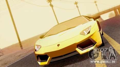 Lamborghini Aventador LP760-2 2013 pour GTA San Andreas vue de droite