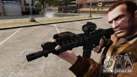 Tactique M4 v1 pour GTA 4 quatrième écran