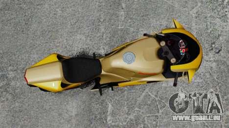 Ducati 848 pour GTA 4 Vue arrière de la gauche