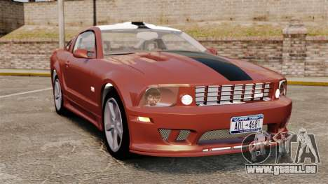 Ford Mustang Saleen SA-25 2008 pour GTA 4