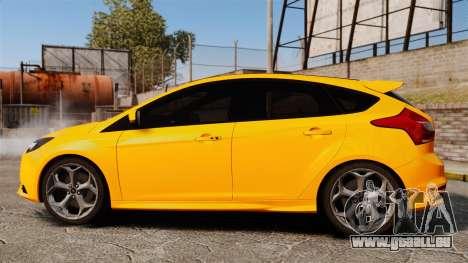 Ford Focus ST 2013 pour GTA 4 est une gauche