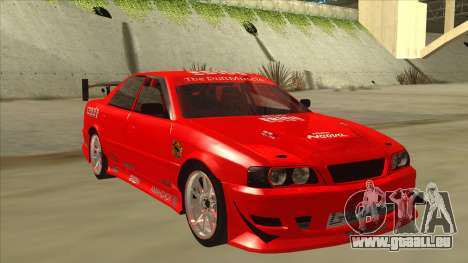 Toyota Chaser JZX100 DriftMuscle für GTA San Andreas linke Ansicht